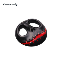 3D Metal Cool Halloween Pumpkin Car sticker metal JACK Skull Motorcycle Accessories For Benz BMW VW Toyota Ford car stylings