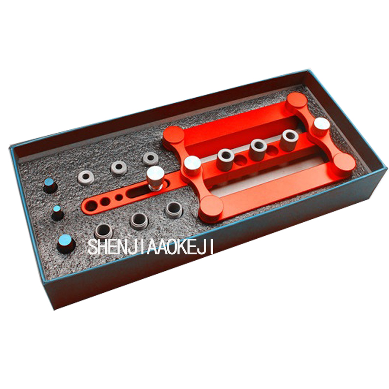 Portable round pin wood rubber punch simple and convenient hole opener locator wooding open hole tools 1pc
