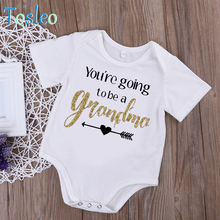 2018 Baby Girl Body Suit Letter Printed Baby Summer Clothes Funny Baby Bodysuit White Cotton Costumes For Toddler
