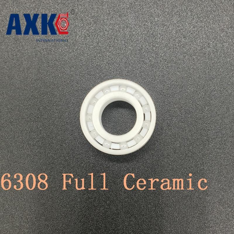 2017 Rushed Sale Rodamientos Axk 6308 Full Ceramic Bearing ( 1 Pc ) 40*90*23 Mm Zro2 Material 6308ce All Zirconia Ball Bearings 6308 full ceramic bearing 1 pc 40 90 23 mm zro2 material 6308ce all zirconia ceramic ball bearings
