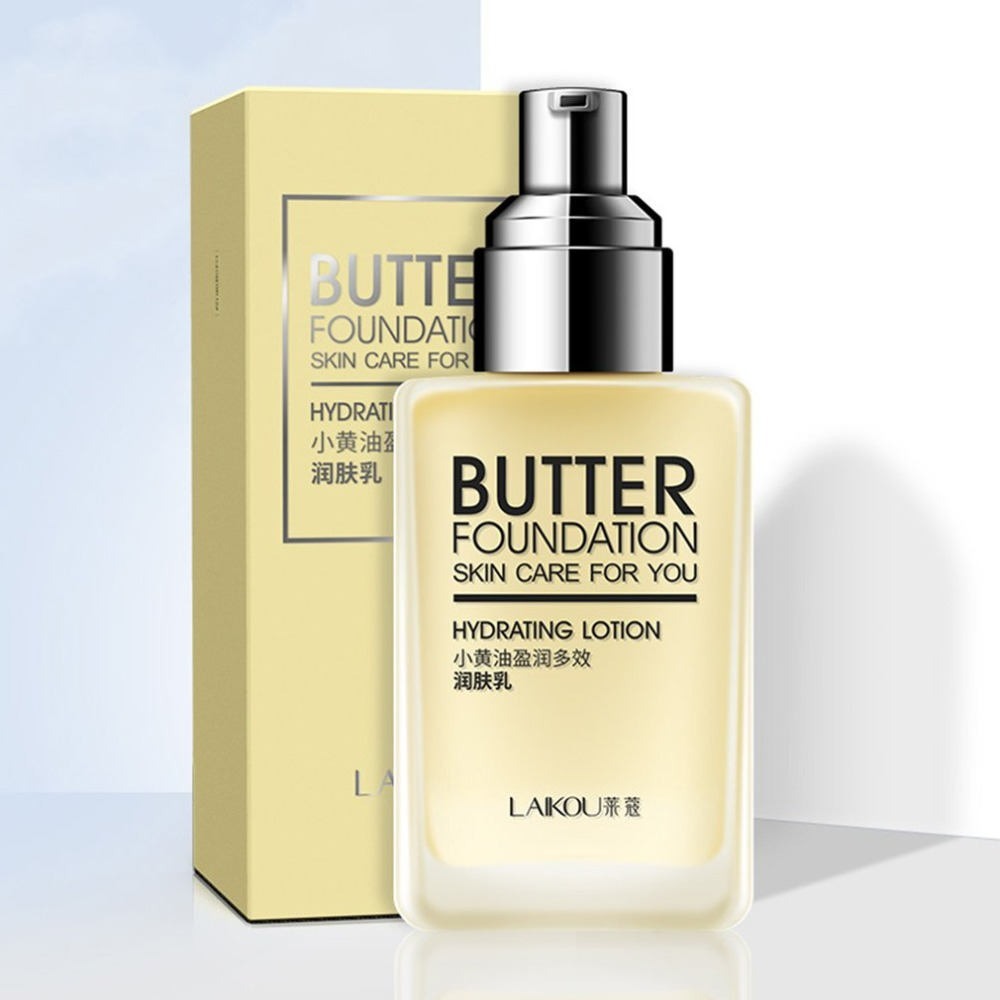Hydration Skin Care: Butter Foundation Skin Care Hydrating Lotion Deep