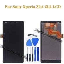 5.0 סנטימטרים תצוגה עבור Sony Xperia Z2A ZL2 צג LCD + מסך מגע Digitizer נייד טלפון אביזרי תיקון חלקים