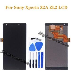 Image 1 - 5.0 pouces daffichage pour Sony Xperia Z2A ZL2 LCD moniteur + écran tactile numériseur téléphone portable accessoires pièces de réparation