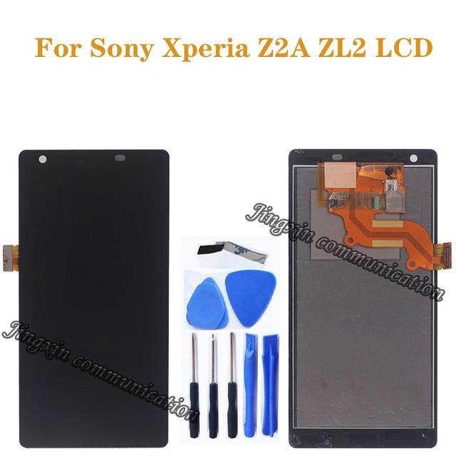 5.0 pouces daffichage pour Sony Xperia Z2A ZL2 LCD moniteur + écran tactile numériseur téléphone portable accessoires pièces de réparation