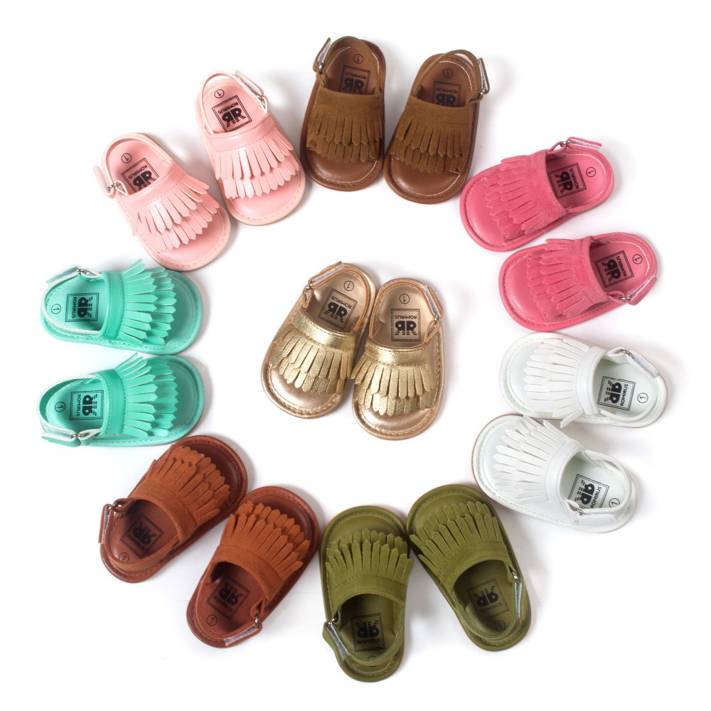 Babyschuhe Sandalen Fransen Baby Mokassins Kleinkind weiche Kinder - Babyschuhe - Foto 4