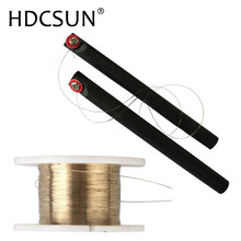 100M Golden Molybdenum Wire Cutting line with handle bar For Iphone 4s/5/6/6S/7/8 Samsung S6/S5/S4/S3 Glass LCD Screen Separator(China)