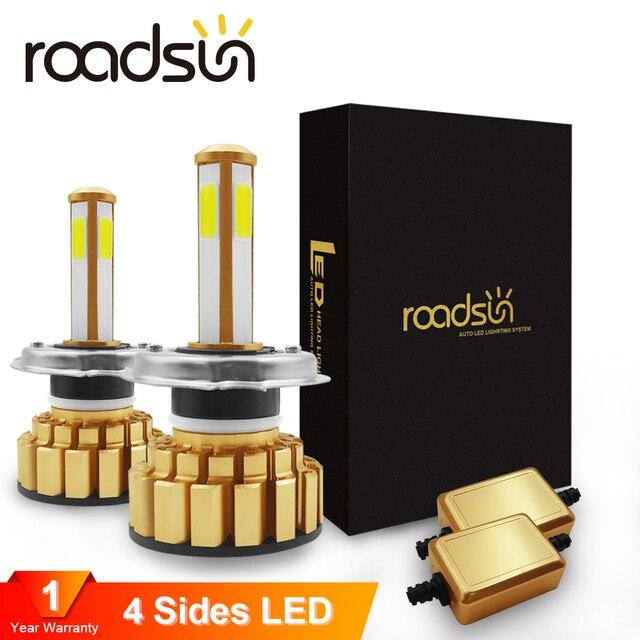 Roadsun ampoule de phare 9005 H4
