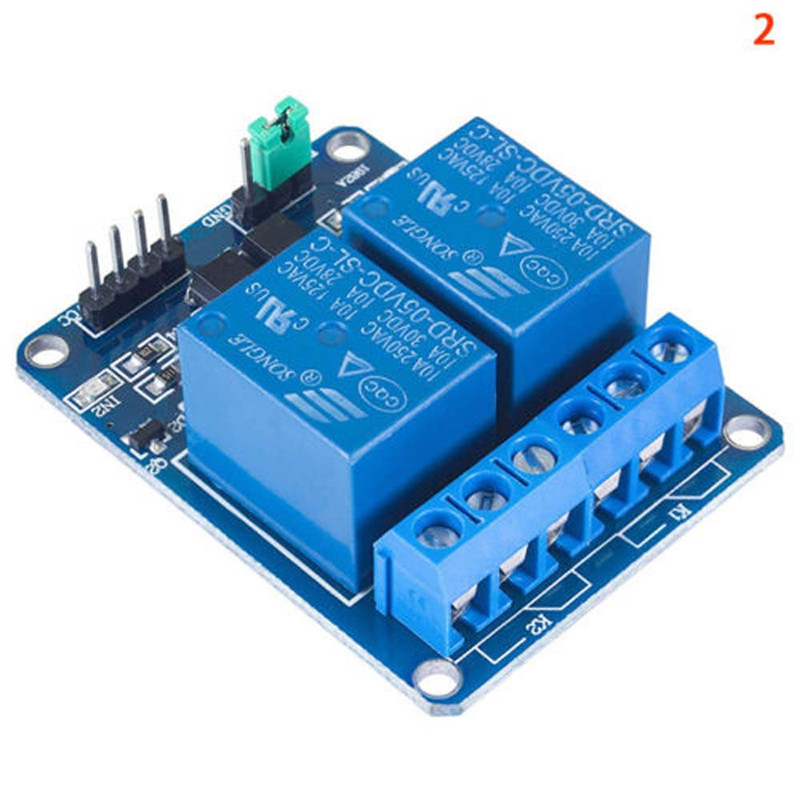 5V 12V 1-2-4-8-16 Channel Raspberry PI Arduino ARM AVR DSP PIC PLC Relay Module