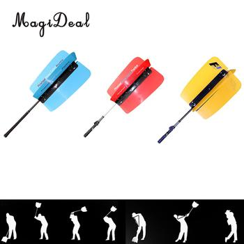 Golf Swing Power Fan Practice Strength Tempo Trainer Warm-up Training Aid Assist Grip Guide