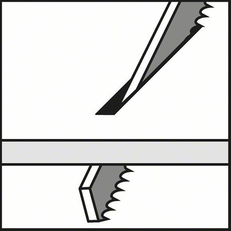 150mm 6 Hcs Reciprocating Sabre Saw Blades 6 Tpi Hand Tools For