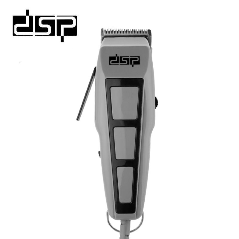 DSP Rechargeable Haircut Electric Hair Clipper Trimmer Gift Set Men Beard Mustache Shaver Machine 220-240 50HZ 10W men hair removal women shaver with pivoting head male mustache beard eyebrow hair trimmer shaver machine safe lighted epilator