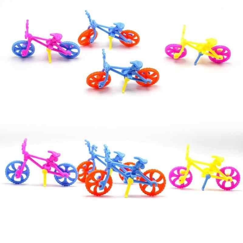 DIY Собранные игрушечные велосипеды мини-велосипед пластиковые игрушки для детей Дети Обучение рукоделию инструменты велосипед Модель игрушки