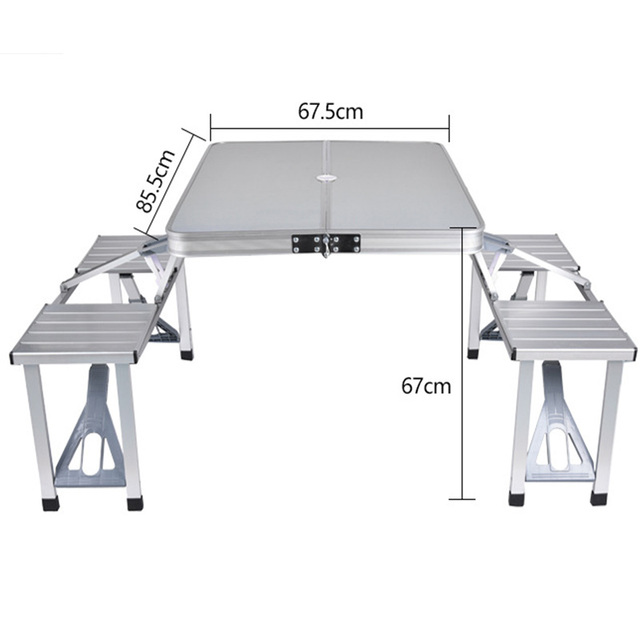 Outdoor Folding Picnic Table  2