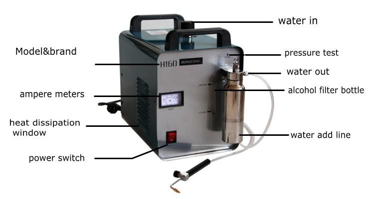 acrylic frame polishing machine 4
