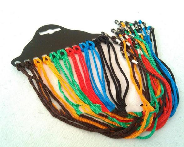 12Pcs Colorful Eyewear Nylon Cord Reading Glass Neck Strap Eyeglass Holder Cord Glasses Strap Eyewear Accessories