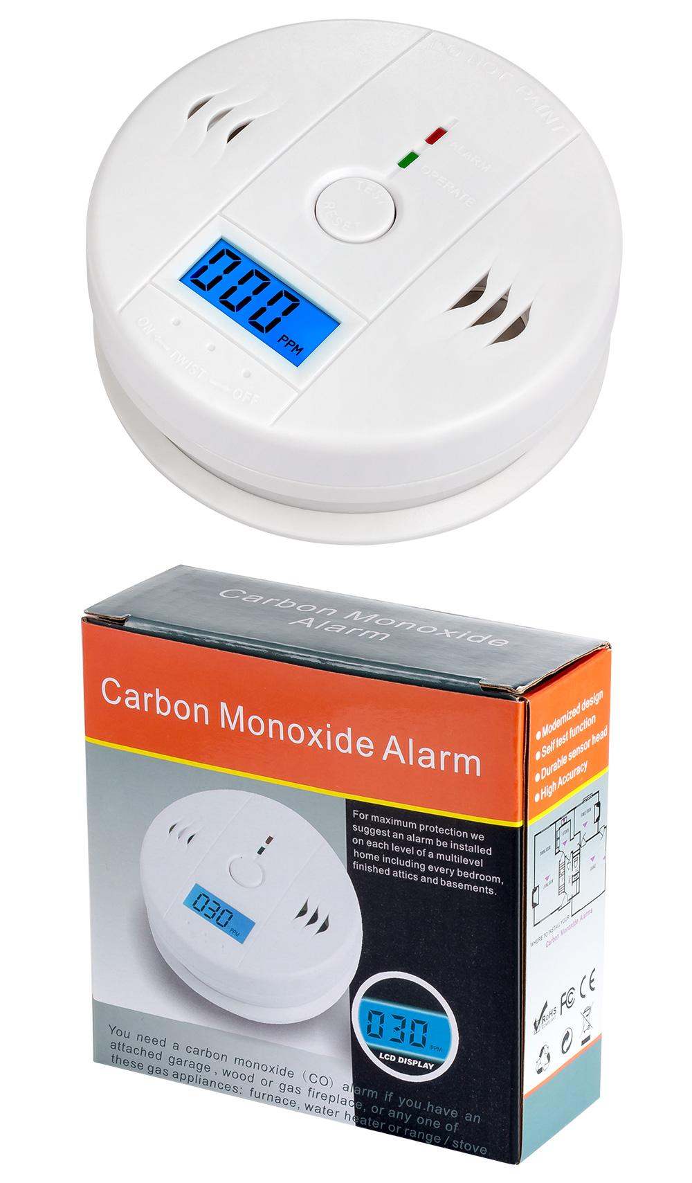 Carbon Monoxide Alarm Detector 5