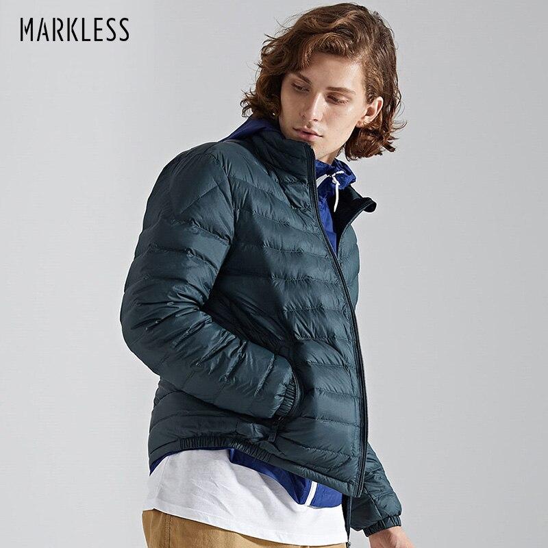 Markless Unisex 90% White Duck   Down   Jacket Brand Clothing Ultralight   Down     Coat   Slim Fit Winter Warm   Down   Jackets