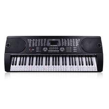 54/61 клавиши наклейка в музыкальном стиле этикетка ПВХ Примечание