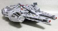 Leping 1381pcs Star Wars 05007 Millennium Falcon Figure Toys Building Blocks Marvel Minis Kids Toy Brinquedos