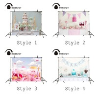 Specials 4x3ft Photography Background Candy Table Birthday Celebration Backdrop Cute Baby Studio Props Theme Allenjoy Photo