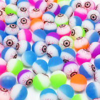 100pcs/set Scary Eyes Rubber Bouncing Balls Kids For Children Outdoor Sports Toys Games Elastic Pinball Jumping Antistress Balls