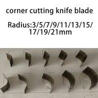 Сделай Сам кожевенное ремесло угловой резки нож-резак инструмент 10 шт./лот