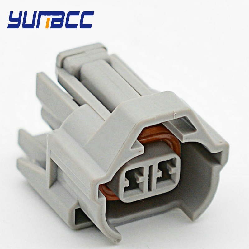 NIPPON DENSO DUAL SLOT Fuel Injection Connectors 4 x FEMALE injector plug