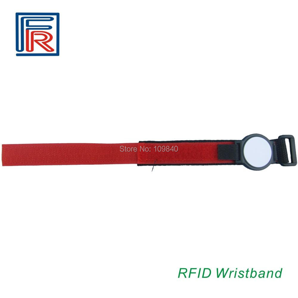 Hot Sale RFID Nylon Wristband For Events