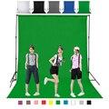 1,6X4 m 3 2 m Color verde algodón no contaminante textil muselina fondos de foto estudio fotografía pantalla Chromakey telón de fondo tela