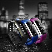 9d30146df4d Nova M2P Pulseira Inteligente OLED Pulseira Coração Relógio de Fitness  Inteligente taxa de pulso de Oxigênio