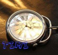 Vintage Mens Ladies Sliver Case Elegant Quartz Pocket Watch