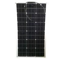 Flexible Solar Panel 12v 80w 160w 240w 320w 400w Waterproof Solar Battery Charger Rv Boat Caravan Car Camping Motorhomes Light