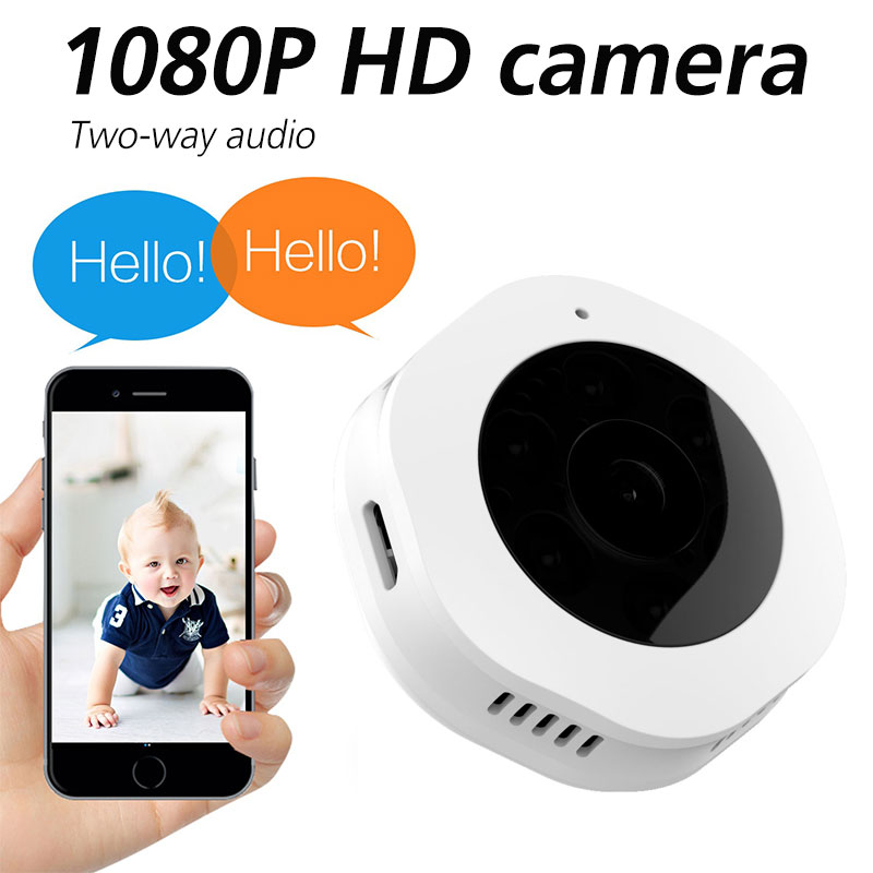 H6 wireless 1080P HD night vision camera Portable home camera with WIFI function Anti-theft camera mini surveillance network camH6 wireless 1080P HD night vision camera Portable home camera with WIFI function Anti-theft camera mini surveillance network cam