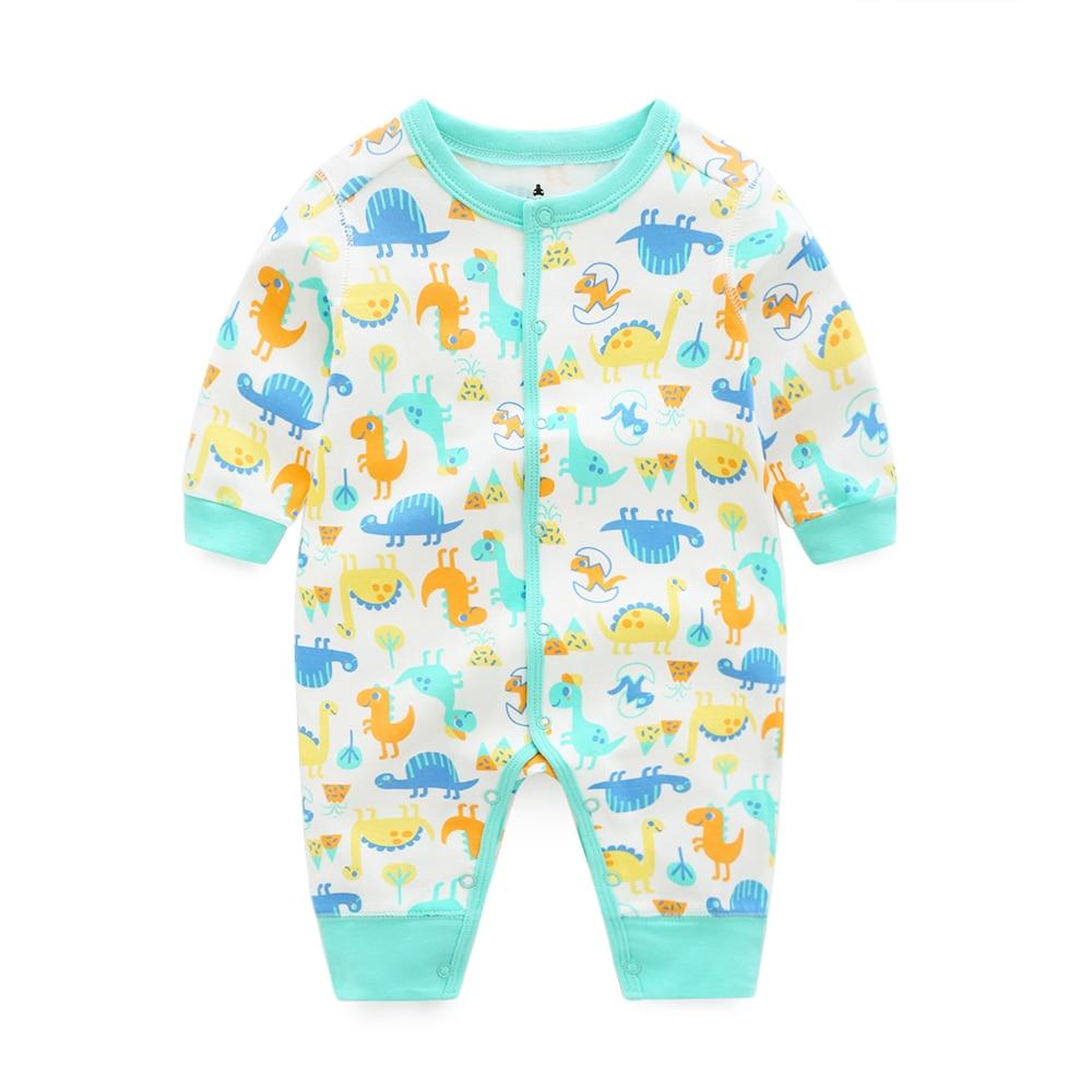 2018 baby's Baby meisje kleding lange mouw romper pasgeboren overalls - Babykleding - Foto 5