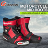 Riding Tribe Moto Motorcycle Racing Shoes Dirt Bike Off Road Riding Sports Motocross Cycling Protector Boots