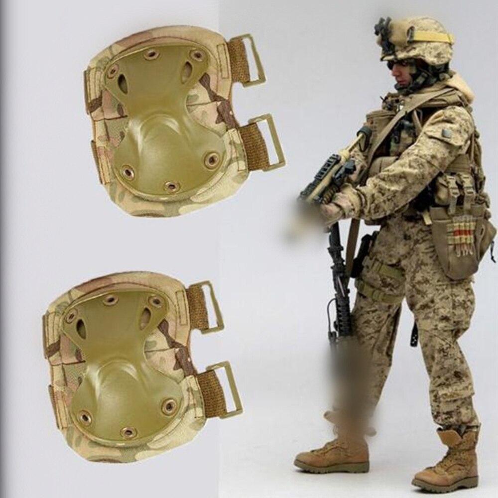 Prix pour Salomon speedcross genou soutien nakoleniki Planche À Roulettes protection Militaire Tactique Genouillères ensemble Combat Airsoft Paintball Chasse