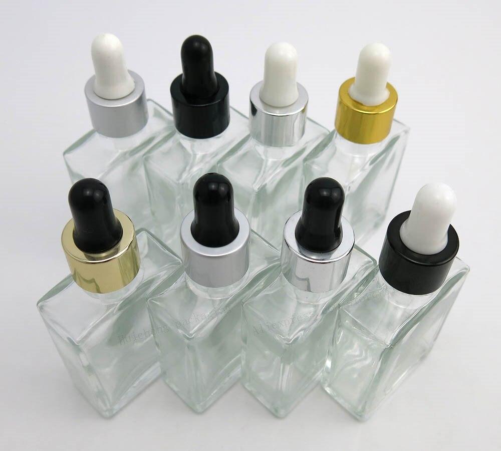 30ml prazne prozirne staklene boce kapaljke za oči aromaterapija - Alat za njegu kože - Foto 2