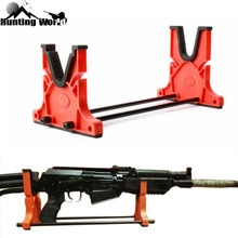 Tactical Gun Rifle Cleaning & Maintenance Cradle Shot gun Smith Bench Rest Stand Holder Tool Rack for Hunitng Airsoft Caza