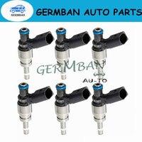 New Manufactured 6PCS Fuel Injectors 06E906036F For Audi A4 09 A5 Quattro 2008 2010 A6 10 11 Q5 09 12