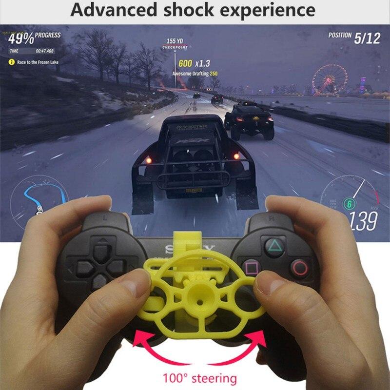 Новый ПК компьютер гоночный игровой контроллер для PS3 беспроводной геймпад Joysticker руль симулятор водителя