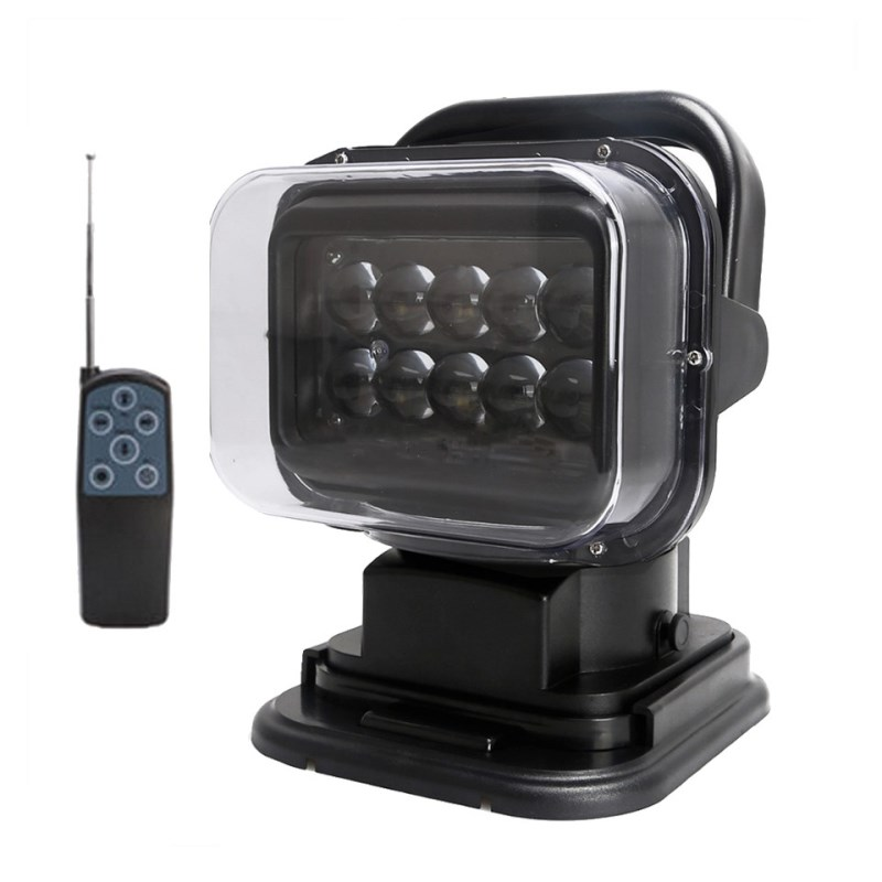 SUPAREE 50W Search Light Magnetic Rotate Remote Control LED Worklight For JEEP SUV Truck Hunting Boat Auto Work Lights зимняя шина nokian hakkapeliitta 8 suv 265 50 r20 111t