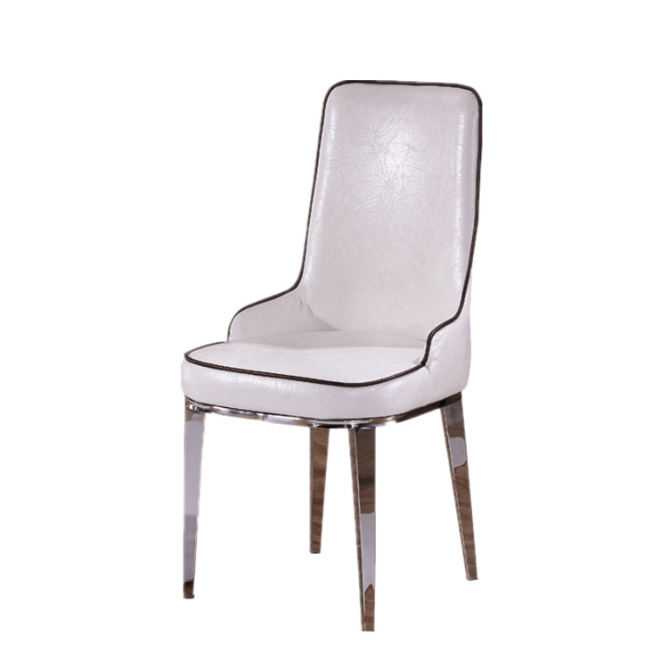 stainless steel factory direct hotel conference chairs home living room leather casual restaurant cafe chair casual living room lots