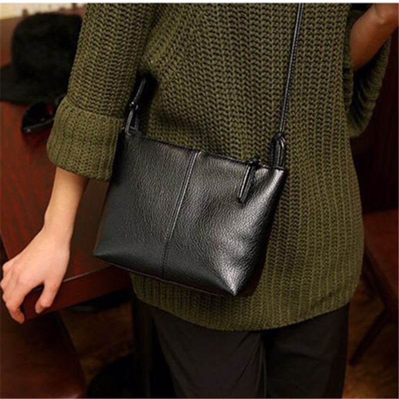 New amp Hot 2019 fashion casual shoulder bag cross body bag small vintage women 39 s handbag pu leather women messenger bags in Shoulder Bags from Luggage amp Bags