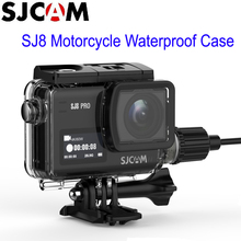 SJCAM SJ8 Series Motorcycle Waterproof Case with USB C Cable for SJ8 Pro SJ8 Plus SJ8 Air 4K Action Camera Accessories