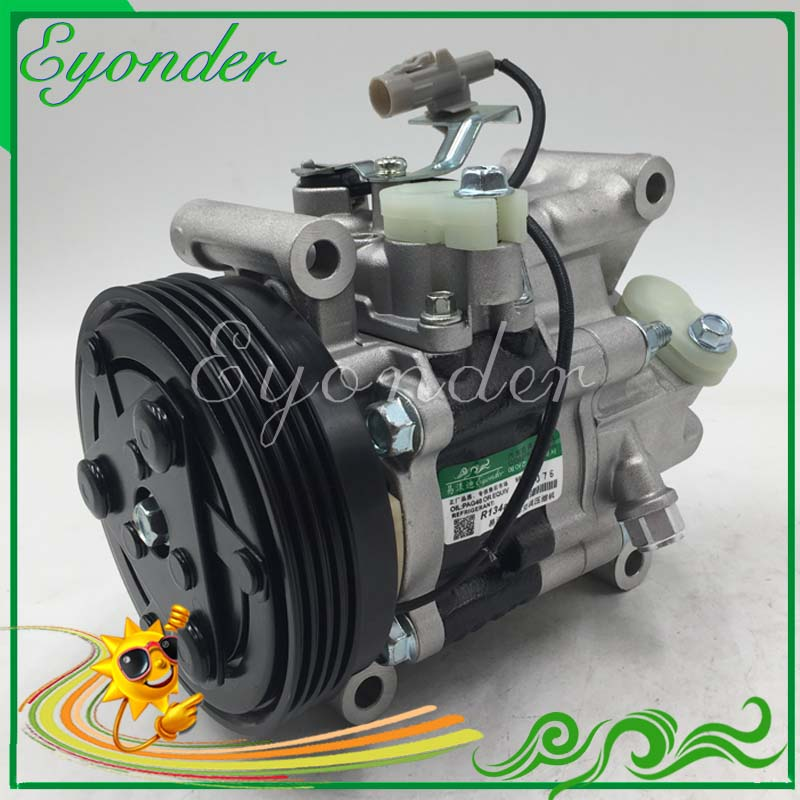 SV08A AC A/C Aircon Air Conditioning Compressor Cooling Pump PV4 for Suzuki SWIFT III MZ EZ 1.3 1.5 1.6 M15A M13A 9520063JA1