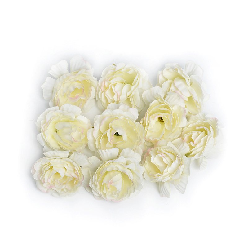 10pcs/lot Silk Roses Artificial Flowers For Wedding And Home Decorations 15