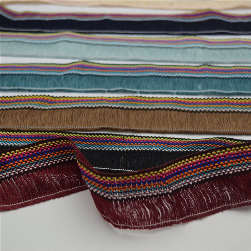 11yards Tassel Trim Fringe Lace  Ribbon 4cm For Craft Sew & Fabric Home Supply Trim