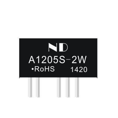 5pcs dc dc buck converter 12V to dual 5V 2w isolated dc-dc power supply module