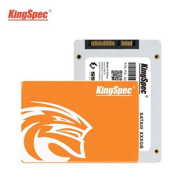 P3-XXX KingSpec 128GB 256GB 512GB 1TB 2TB SSD SATA 3 2.5 Inch Internal Solid State Drive HDD Hard Disk HD For laptop Desktop New 3