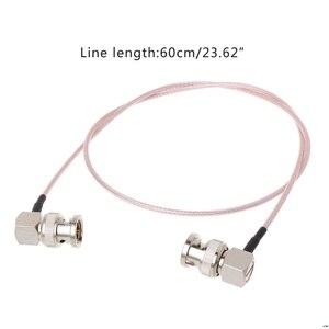 HD SDI видео разъем кабель RG179 BNC штекер BNC правый угол штекер для BMCC камера Blackmagic